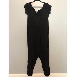 ASOS Maternity black jumpsuit